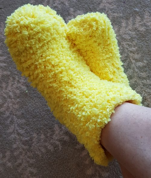 Knitted-Bed-Socks-Pattern