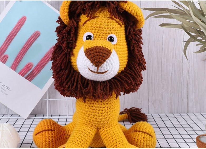 Crochet Toy Lion Pattern Arigurumi - Yarn Club