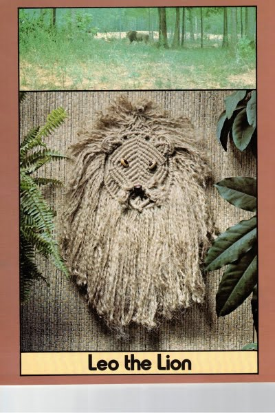 macrame-lion