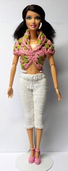 barbie-crochet-bolero-knitted-pants-pattern