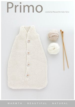 baby sleeping bag knitting kit